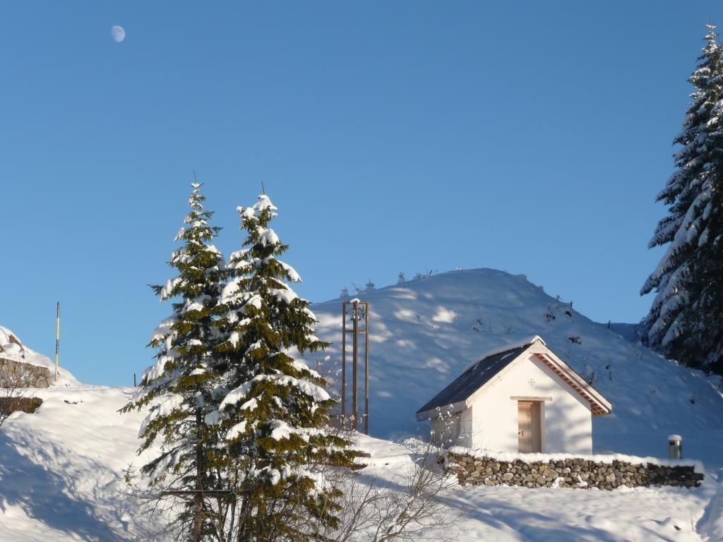 Pilgerkapelle im Winter