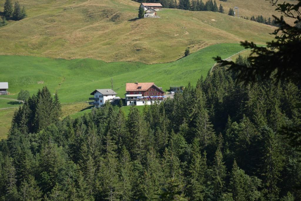 Berggasthaus Haggenegg auf 1414müM