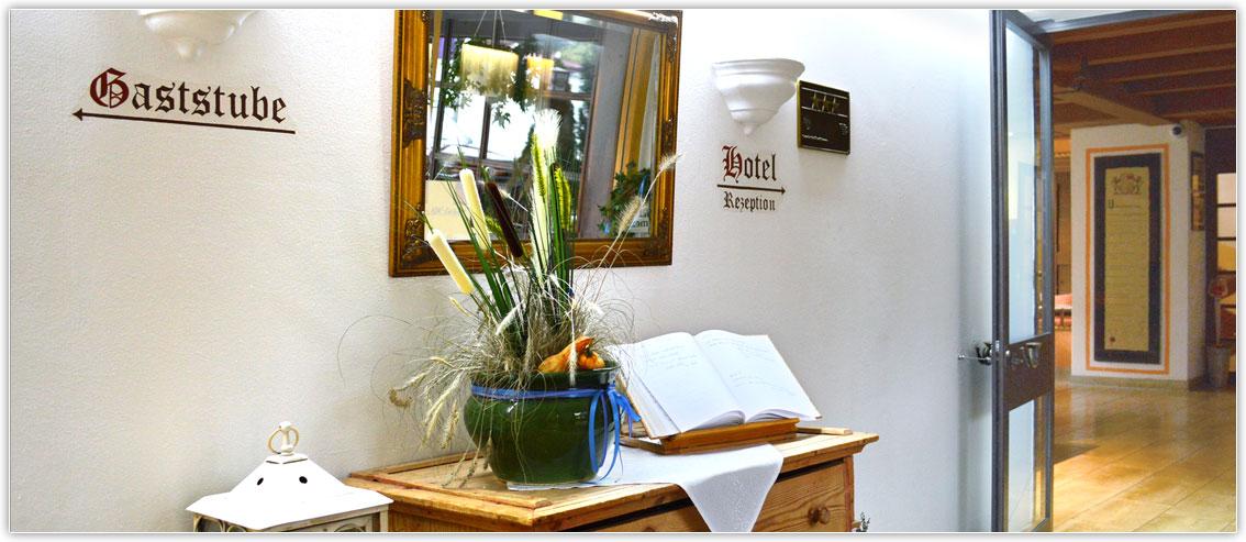 Empfang im Hotel zur Post Kiefersfelden