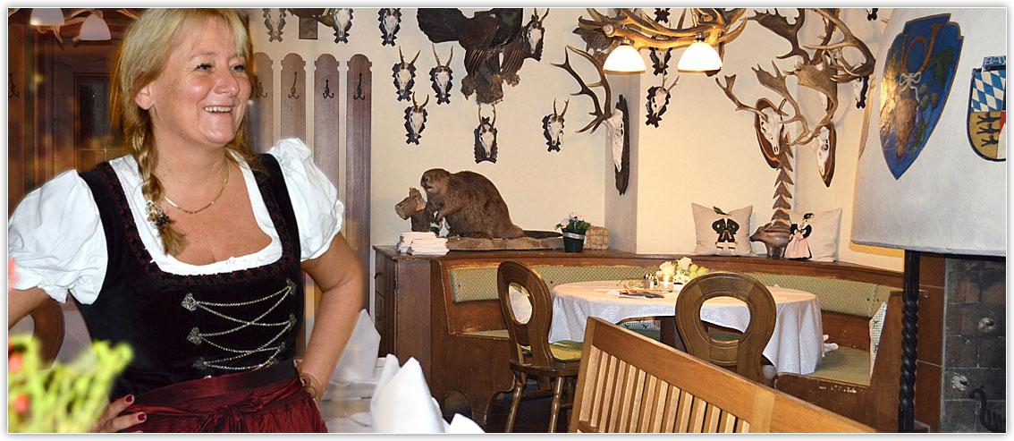 Hunting lodge at Hotel zur Post