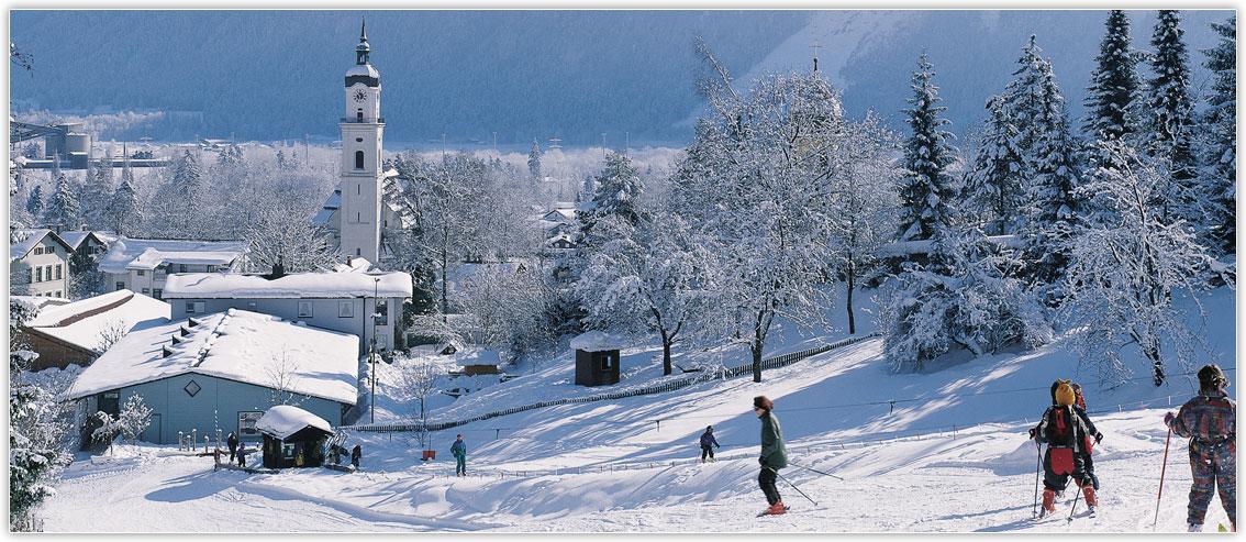 Kiefersfelden im Winter, Hotel zur Post