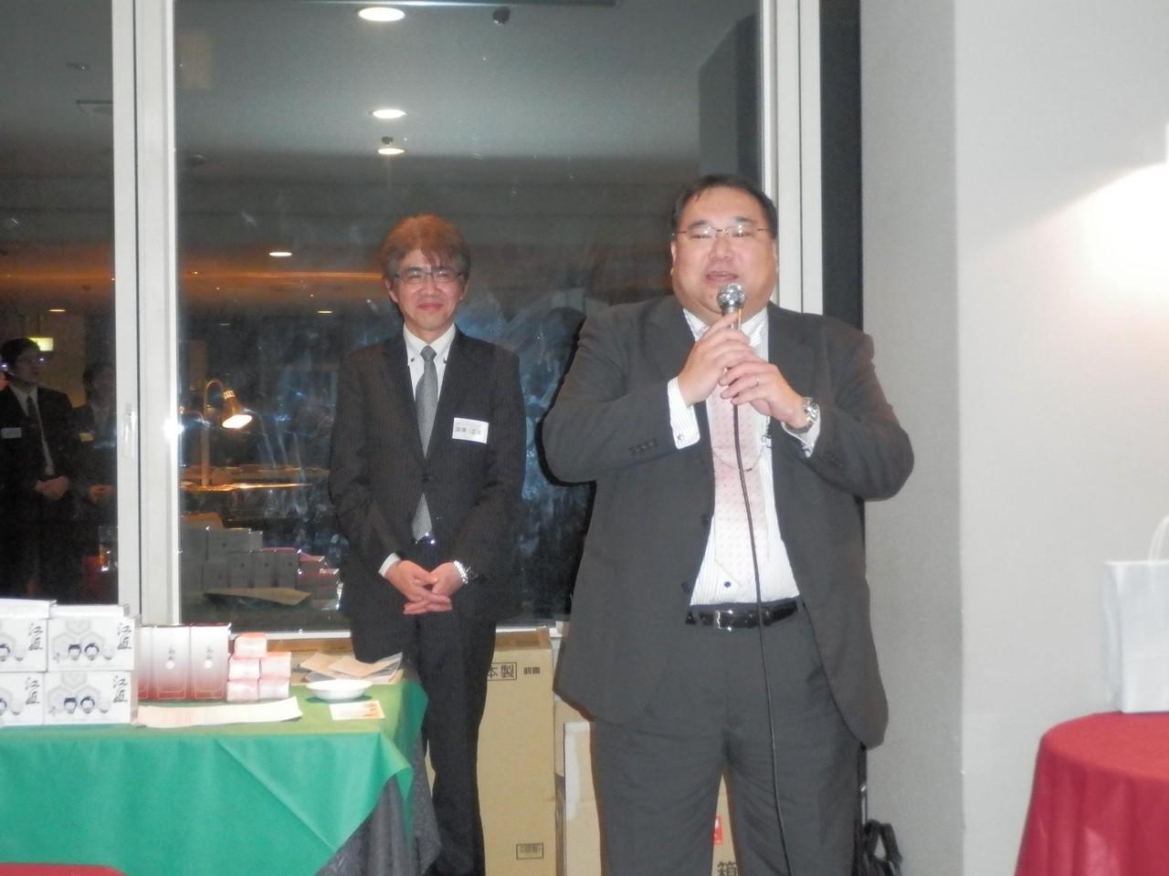 右側 新会員の生垣信雄さんです!よろしくお願いいたします☆