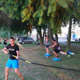 Crossfit: Outdoor-Training