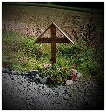 Befreites Unfalkreuz durch DIE BETHEN