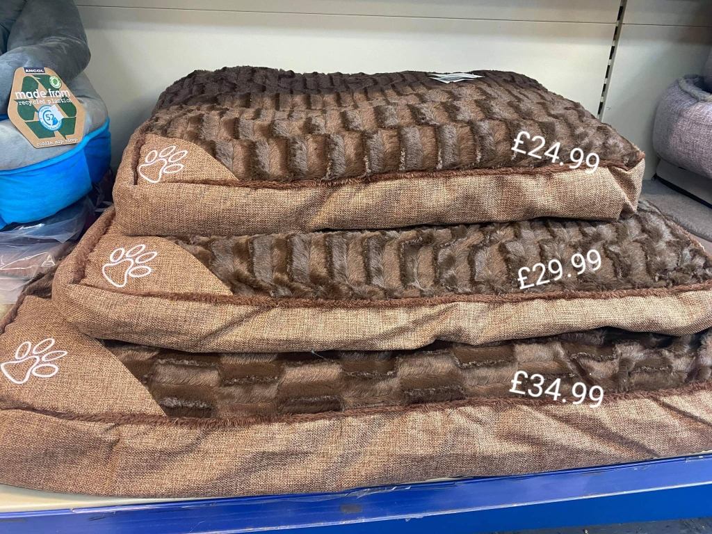 CHOCOLATE COLOURED FLAT BEDS EXCELLENT QUAILTY