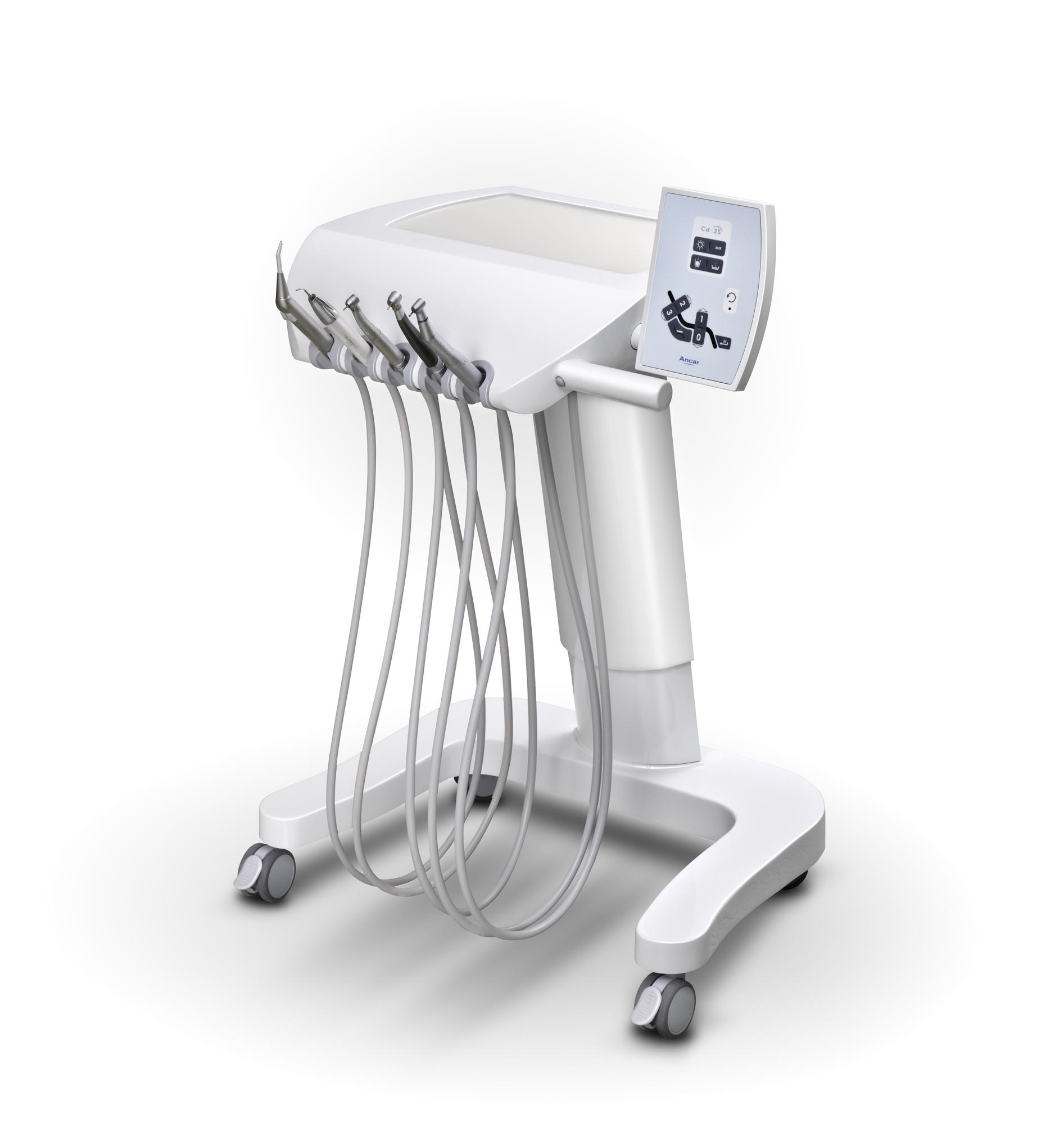 CD-25 Cart mit elektropneumatischer Steuerung