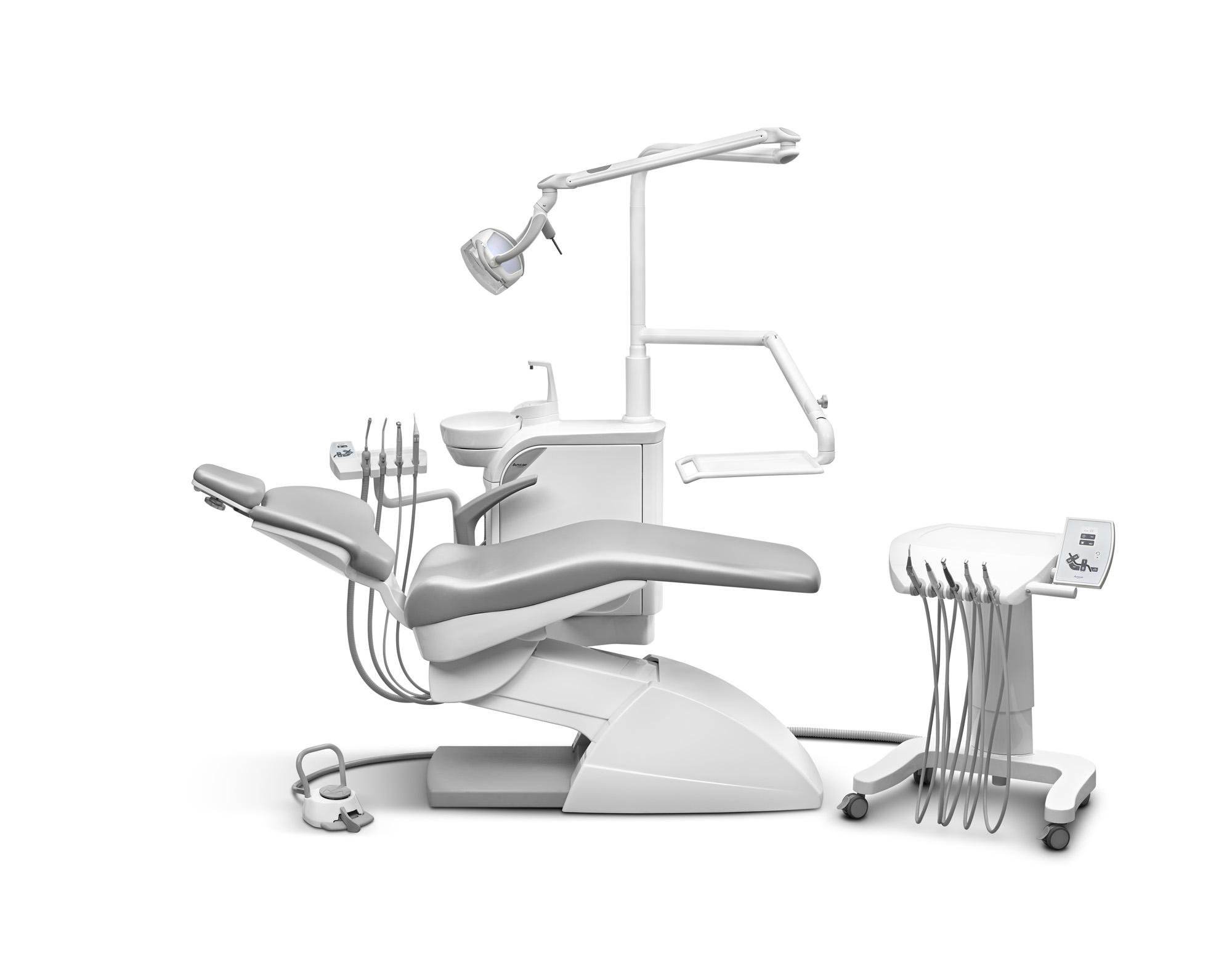 SD-25 Behandlungseinheit mit Cart CD-25 mit elektropneumatischer Steuerung