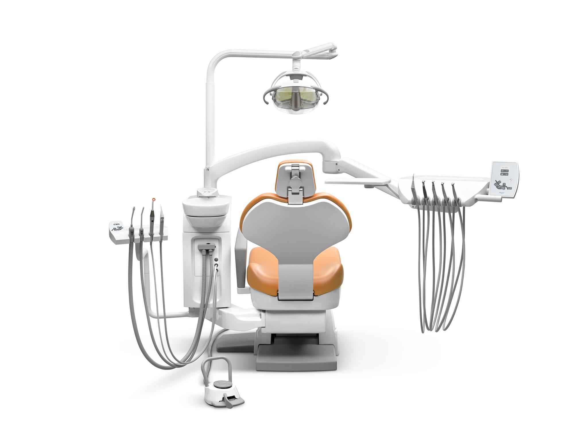 SD-175 Elektropneumatische Behandlungseinheit mit hängenden Schläuchen