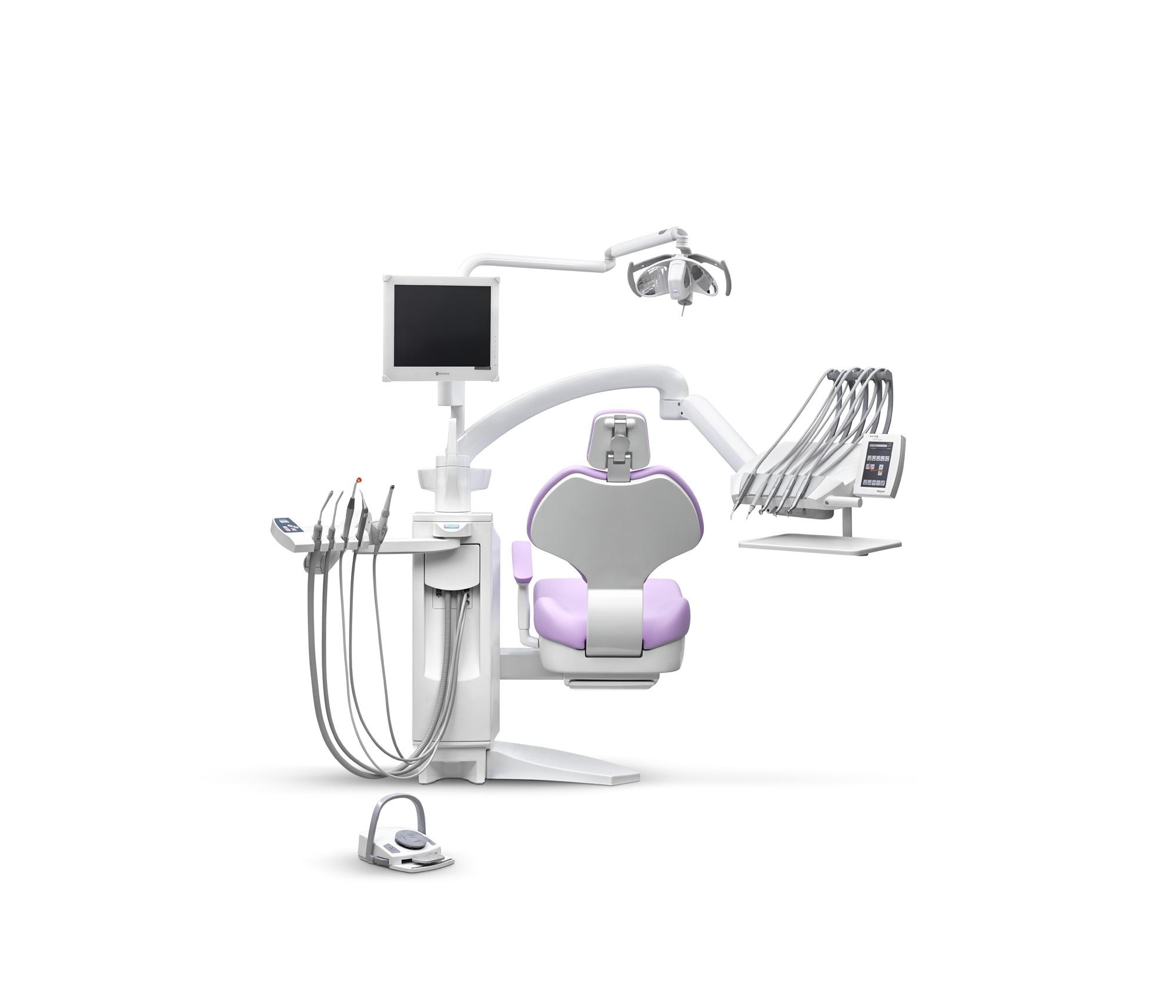 SD-550 Touch-Expert (Mikroprozessorgesteuerte Behandlungseinheit mit Schwingbügeln)