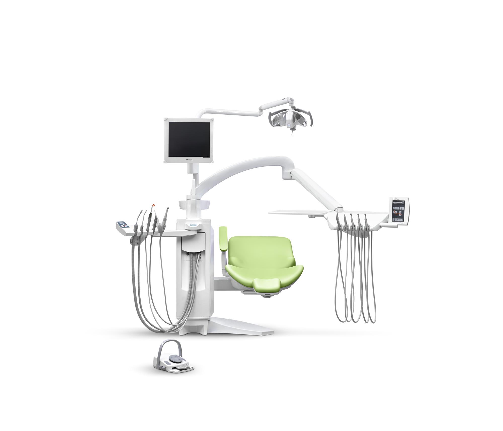 SD-575 Touch-Expert (Mikroprozessorgesteuerte Behandlungseinheit mit hängenden Schläuchen)
