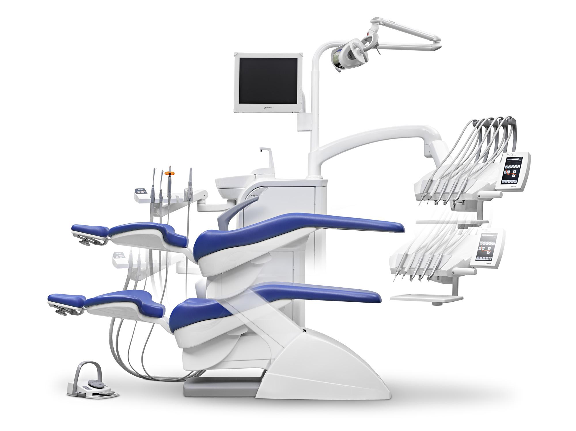 SD-300 Touch-Expert (Mikroprozessorgesteuerte Behandlungseinheit mit Schwingbügeln)