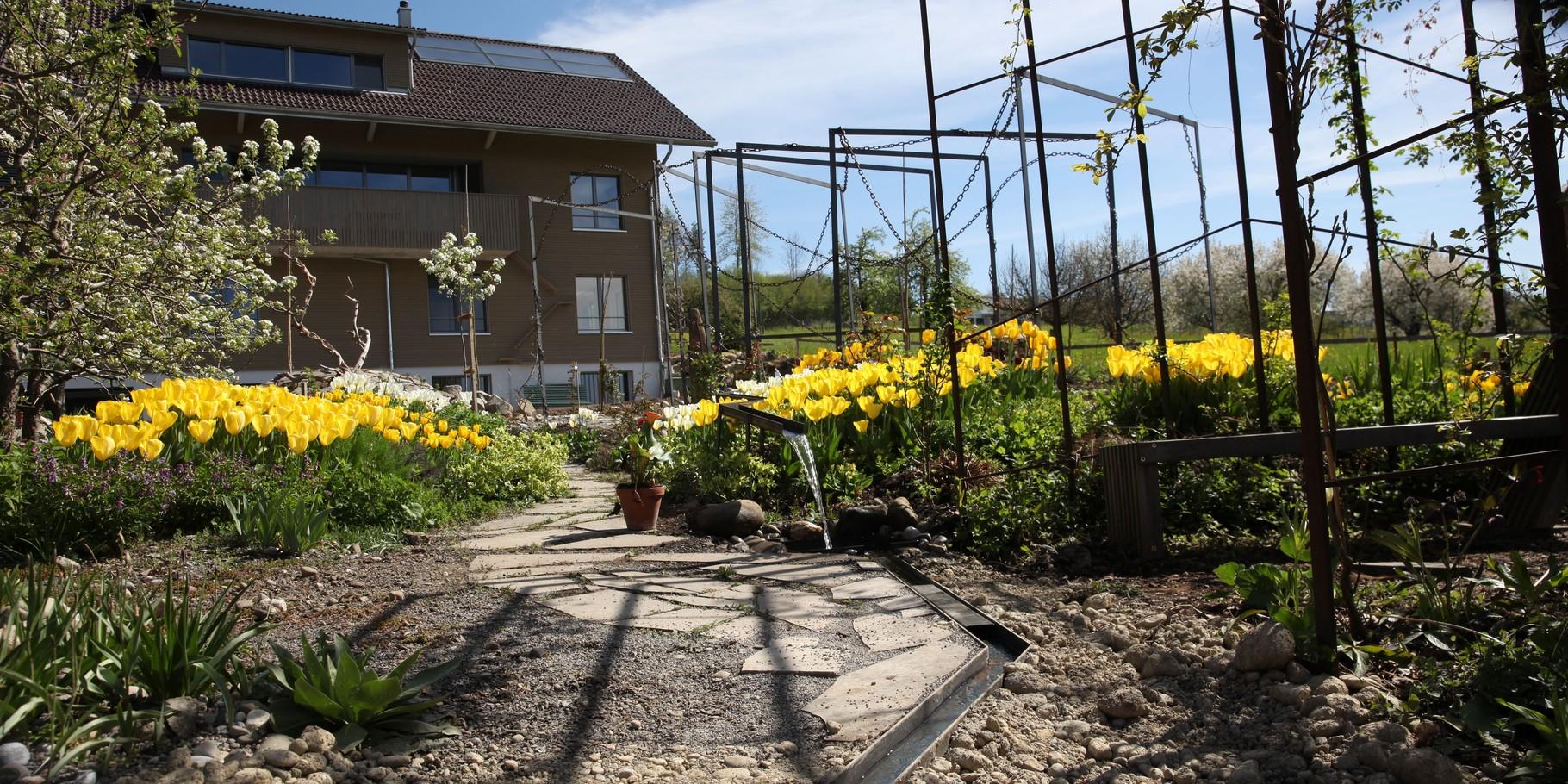 Gartengestaltung Metall Design