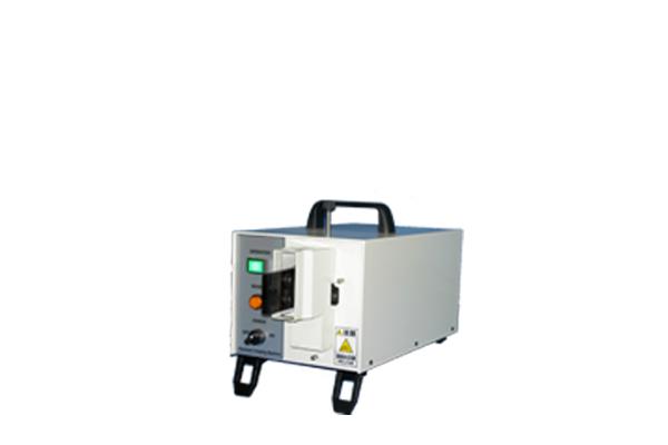 卓上型小型電動圧着機 手動圧着工具の圧着ダイスの交換により作業効率の向上
