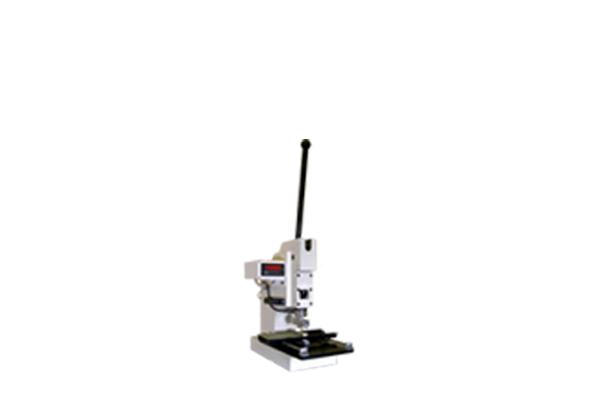 コンパクトPCIコネクタ用ハンドプレス機 圧入機 圧接機 ロードセル