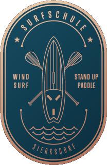 Logo: Surfschule Sierksdorf, SUP Station, Windsurfen, Ostsee