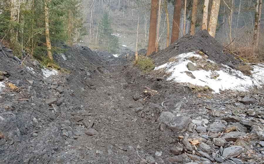 Tschingeleygraben Burglauenen Nachher