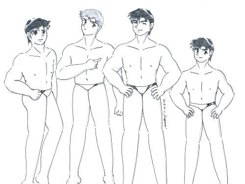 健太郎、ケネス、ケンジ、龍