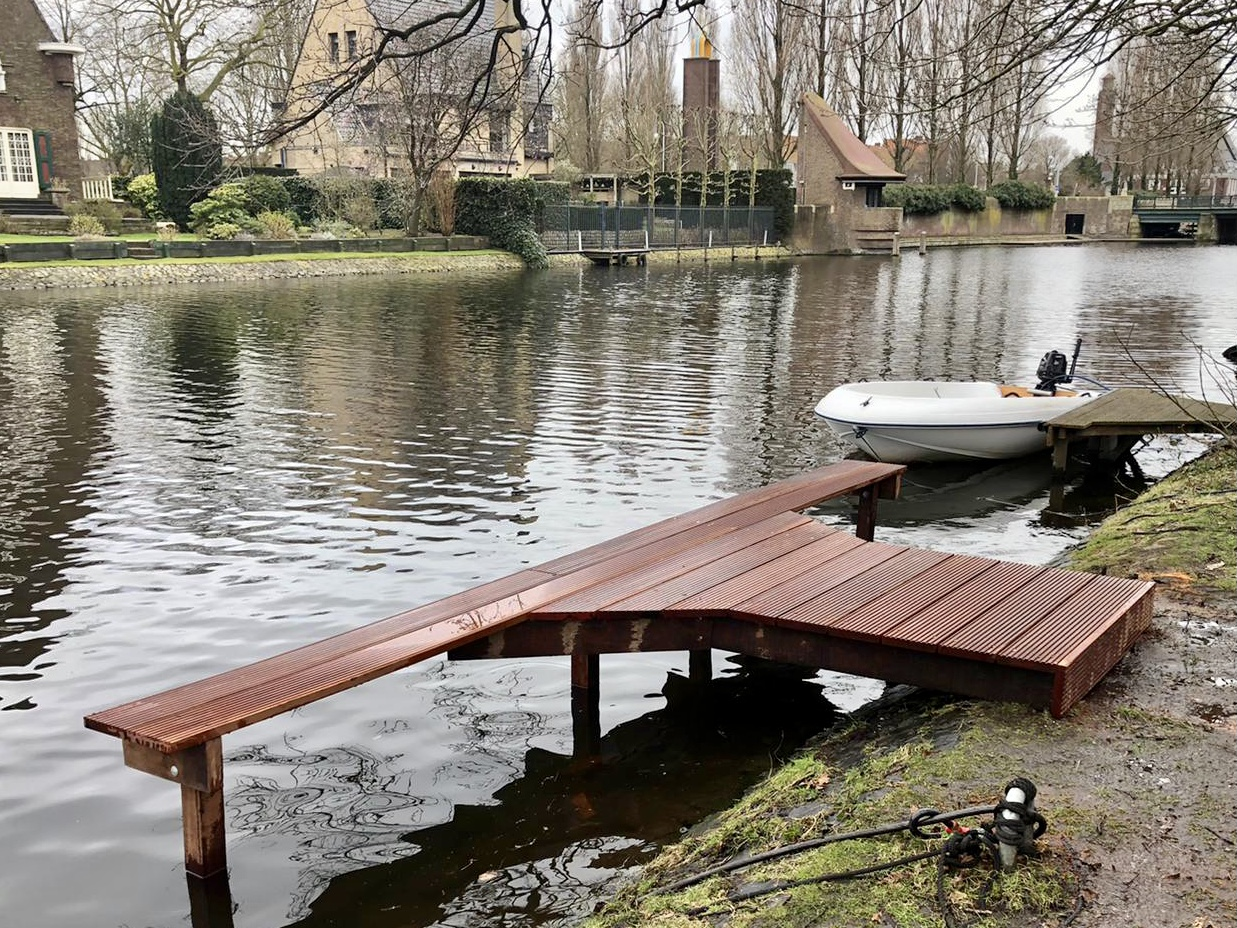 Aanlegsteiger Jan van Goyenkade Amsterdam