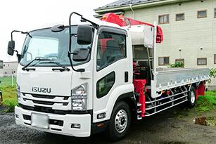 株式会社ヤマダの配送用トラック