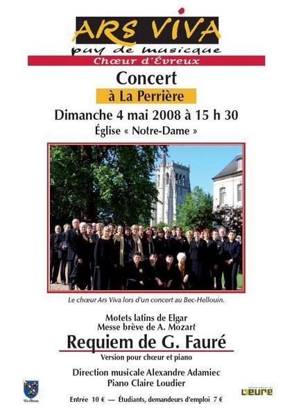 La Perrière, 4 mai 2008