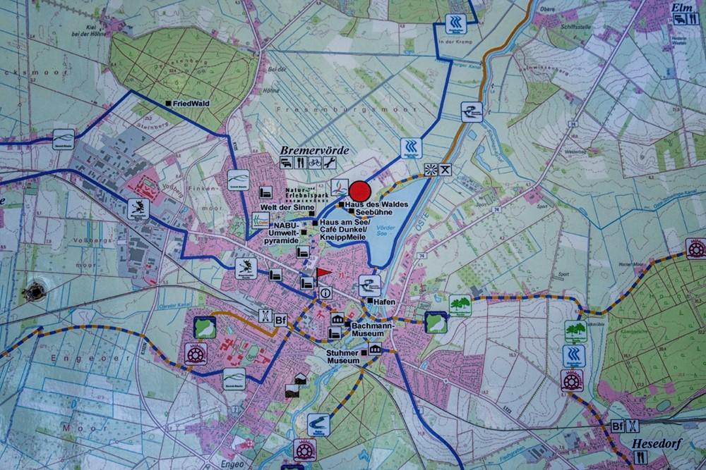 Foto by Thorsten Eilers. Bremervörde Karte für die Anfahrt.