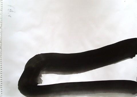Ohne Titel, 30 x 40 cm, Tusche auf Papier, Susanne Renner