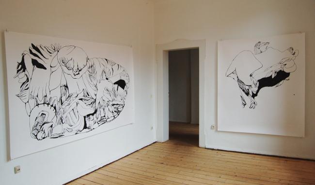 Diplomausstellung Innen/Außen, Ansicht 4, Susanne Renner, 2008 (Foto: Julia Hecht)