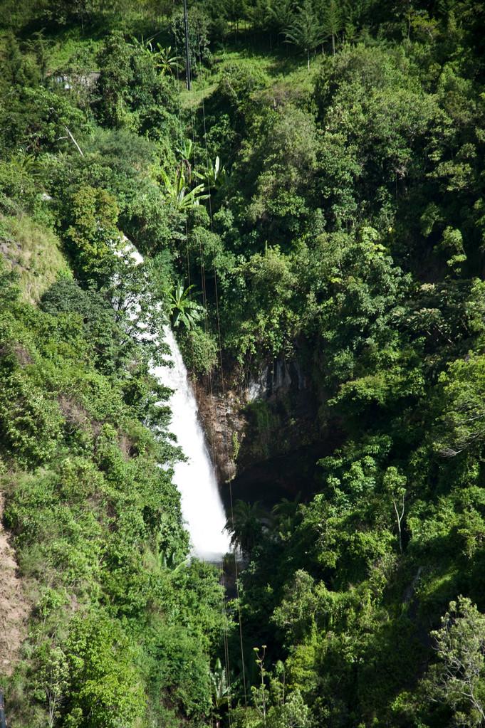 Der Wasserfall in Tideret