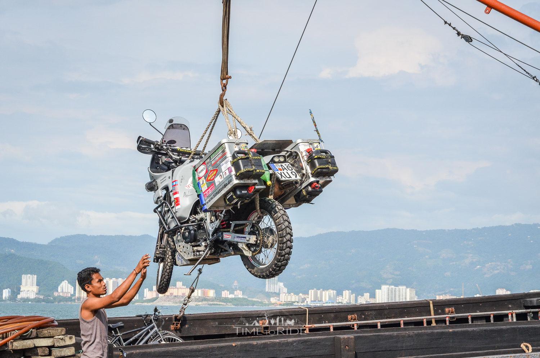 Motorrad Verschiffung mal anders - Reisebericht  Malaysia