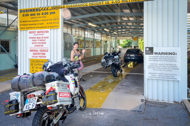 Verschiffung nach Down Under - Reisebericht Australien (Northern Territory)
