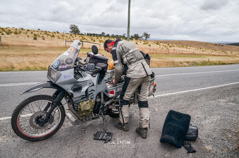 Mit dem Motorrad unterwegs in Tasmanien - Reisebericht Australien