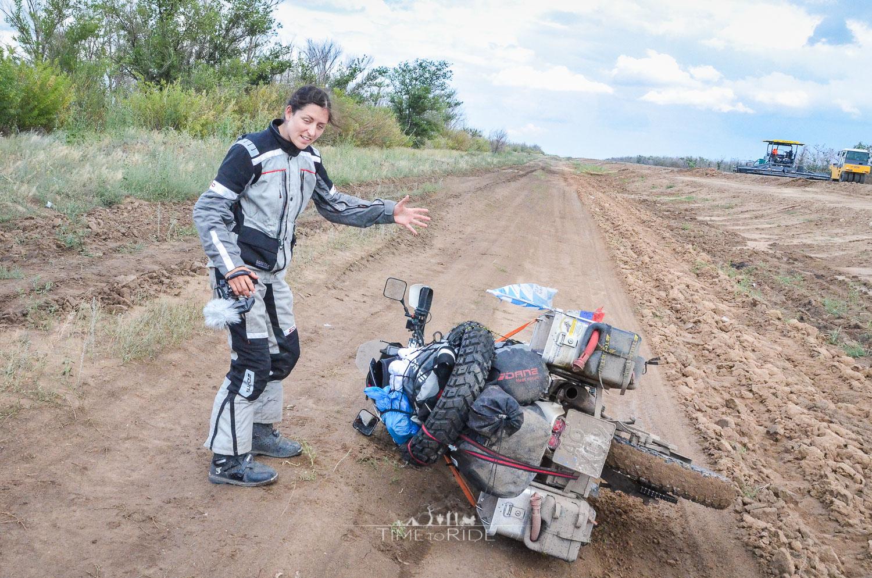 Bodenkontakt mit Folgen - Reisebericht Kasachstan