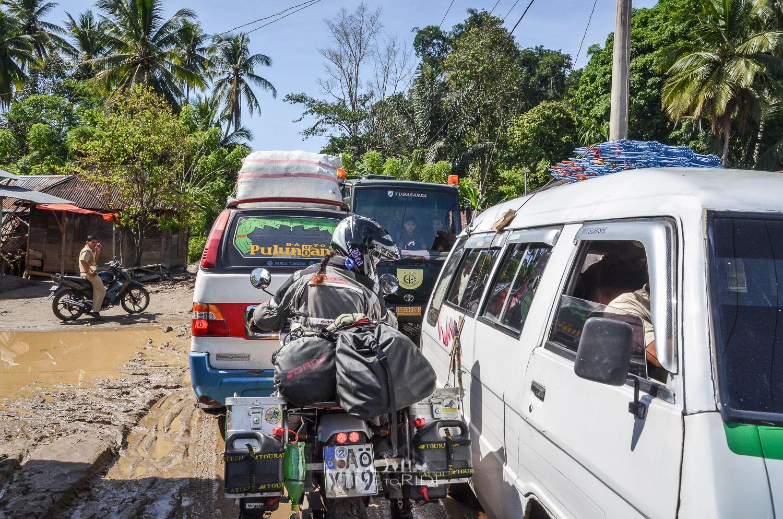 Kampf um jeden Millimeter - Reisebericht Indonesien (Java)