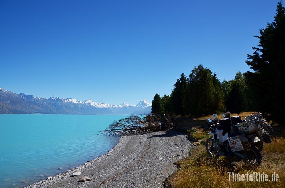 +Besuch am Mount Cook - Reisebericht Neuseeland