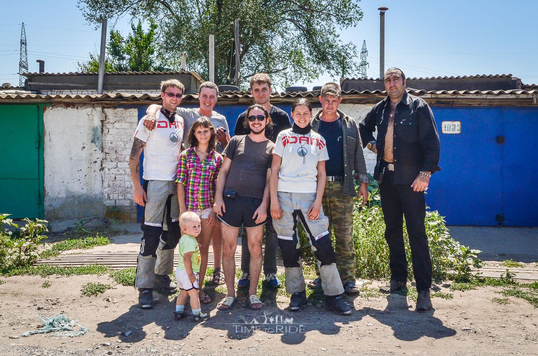 Motorradfahren verbindet - Reisebericht Russland (West)