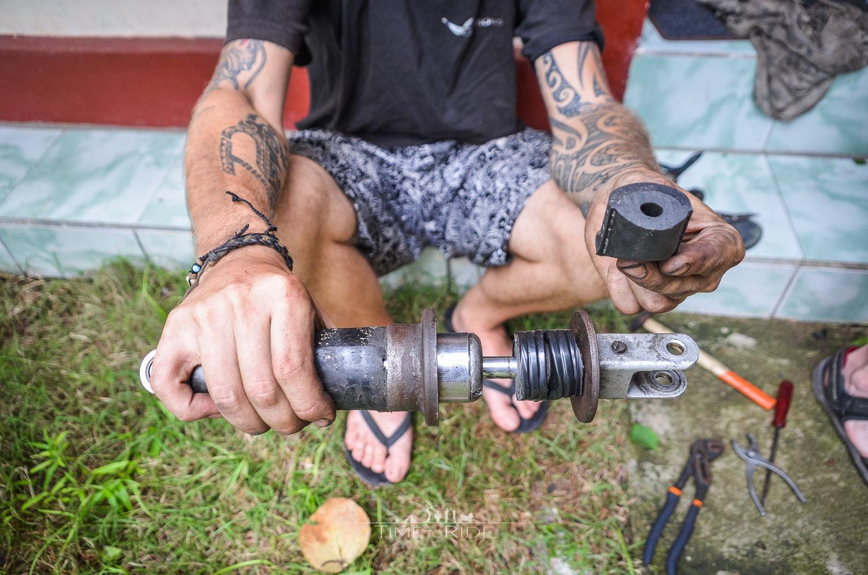 Improvisation ist alles - Reisebericht Indonesien (Lombok)