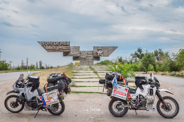 Das Wahrzeichen von Wolgograd - Reisebericht Russland (West)