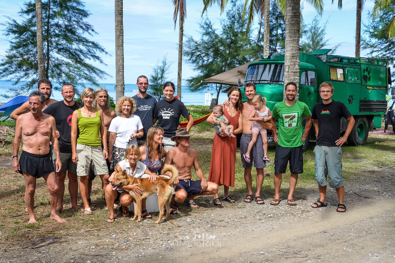 Silvester am Strand - Reisebericht Thailand