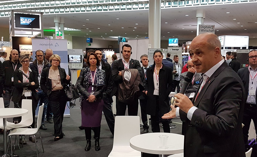 Reception of Swiss delegates and politicians @ CeBIT.