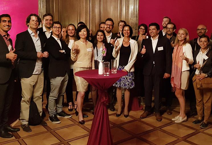 An extraordinary event organized by the Ambassador Christine Schraner Burgener