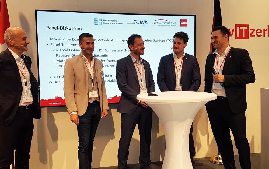 With Christian Naef, Mathias Wegmueller, Raphael Gindrat and Marcel Dobler