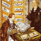 Jacob Fugger mit M. Schwarz im Kontor