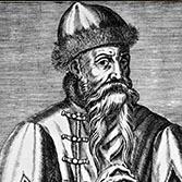 Johannes Gutenberg Portrait 16.Jhdt. Fantasiebild