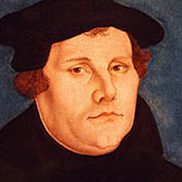 Portrait Martin Luther Lucas Cranach der Ältere