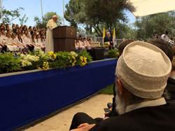 Allocution du Pape François auprès du Président Shimon Peres le 26 mai 2014