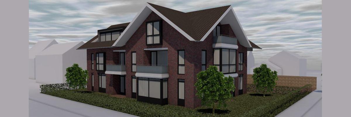 Nieuw duurzaam project: Appartementen Ebbinge Wubbenlaan Staphorst