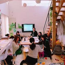 整理収納アドバイザーの冨田真紀さんと「理想の未来を引き寄せる 親子のためのお片付け講座を開催しました。