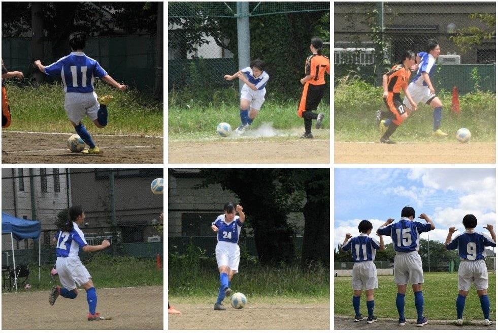 女子サッカー部 令和3年度 皇后杯予選 1回戦