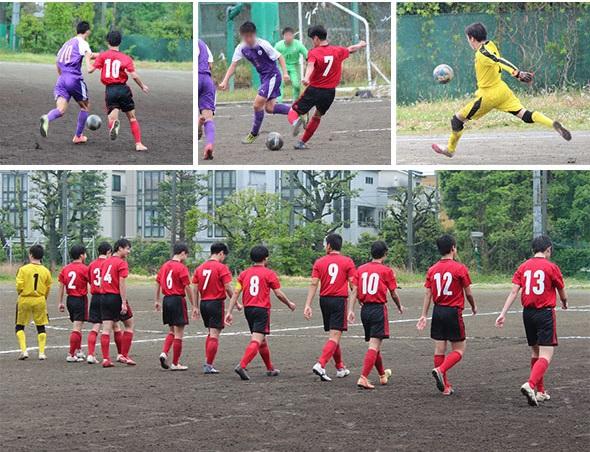 サッカー部 令和3年度 全国高校サッカーインターハイ東京予選2回戦