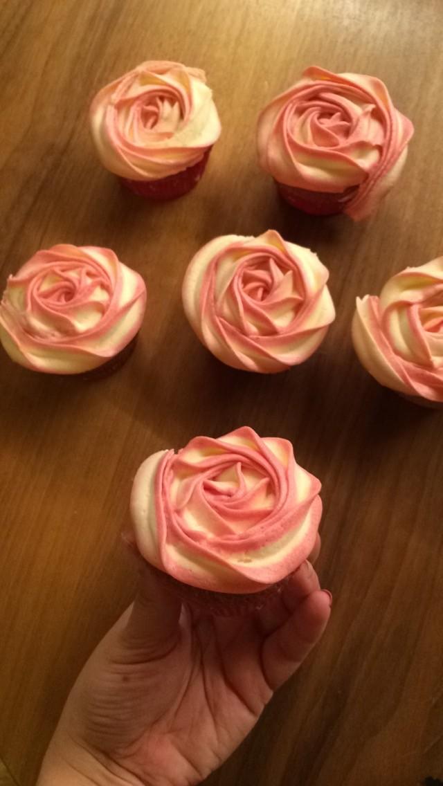 Zitronen-Himbeer Cupcakes